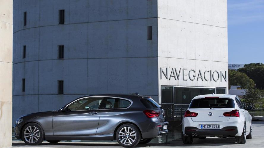 BMW 1 Serisi Cenevre'ye makyajlı geldi