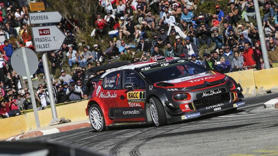 WRC - Victoire pour Meeke et Citroën en Espagne !