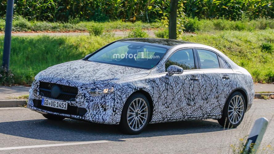 El Mercedes Clase A Sedan 2018 ya está en marcha