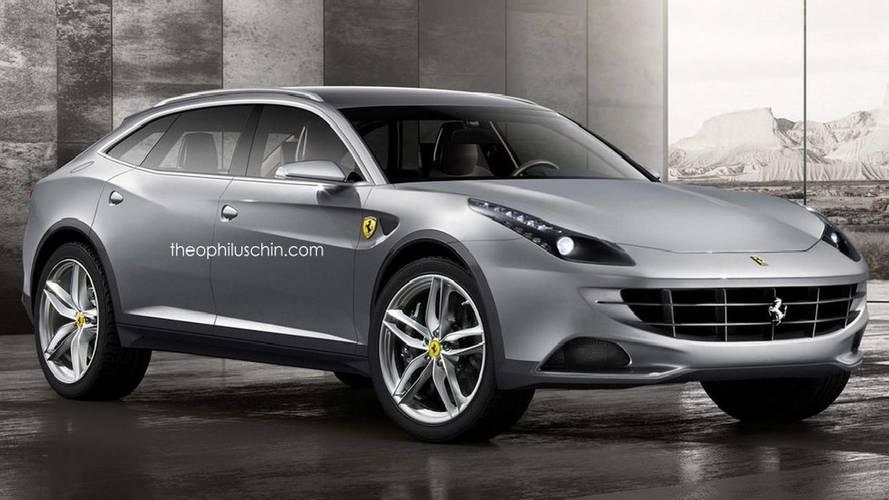 Recreaciones del futuro Ferrari SUV