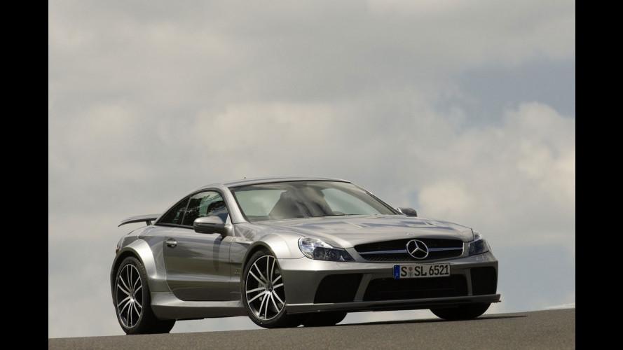 La nuova Mercedes SL65 AMG Black Series