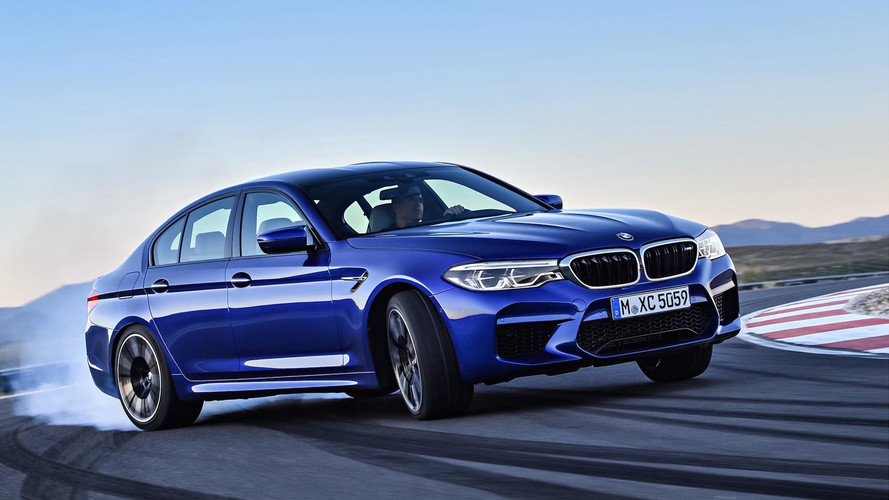 The Original BMW M5 F90 Prototype Was Rear-Wheel-Drive-Only