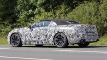 BMW M8 Convertible spy photo