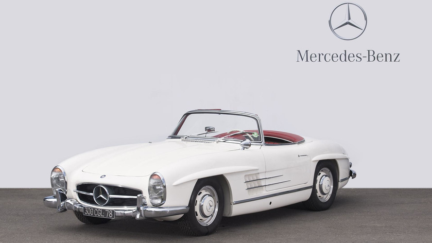 1'416'000 euros pour une Mercedes 300 SL Roadster
