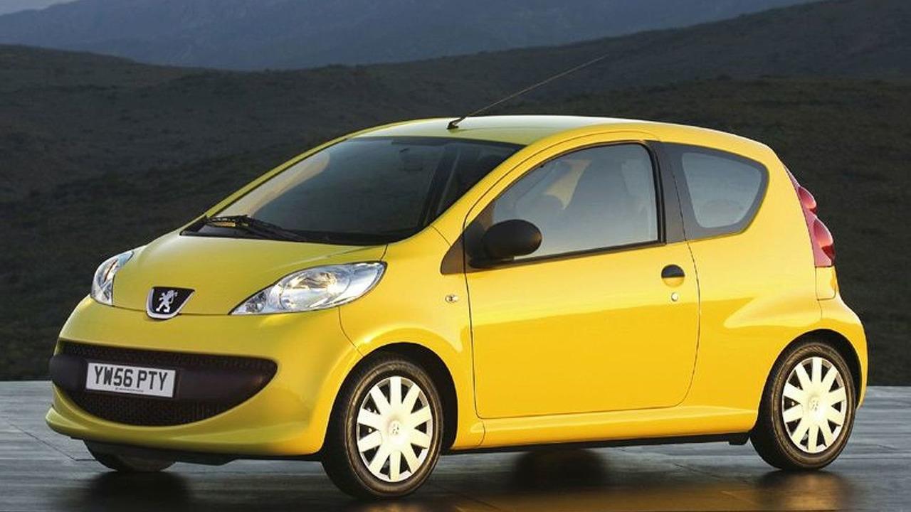 Peugeot 107 Urban Lite (UK)
