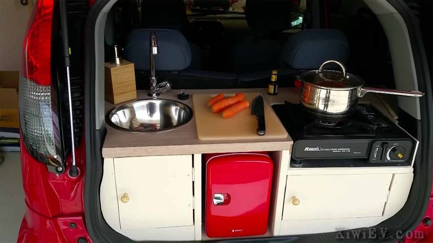 Peugeot Ion Gets Kitchen In The Trunk Is Ultra-Tiny RV EV