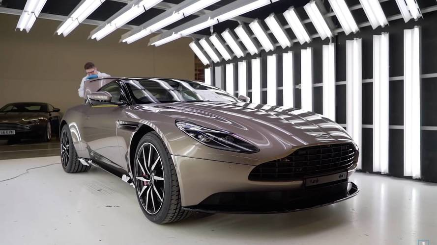 How A GT Is Born: Aston Martin Shows DB11 Production Process