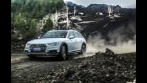 Audi A4 allroad, lo spot sull'Etna 005