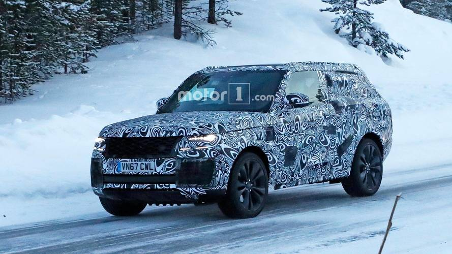 Ultra-Luxurious Range Rover Coupe Spied Testing For First Time