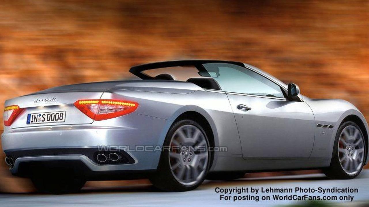 New Maserati Spyder - Artist Impression