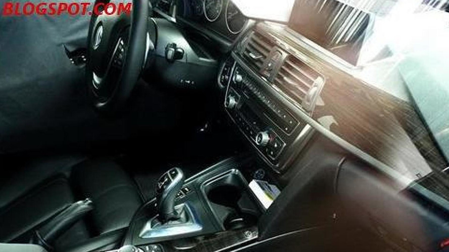 BMW 3-Series interior caught in latest spy photos