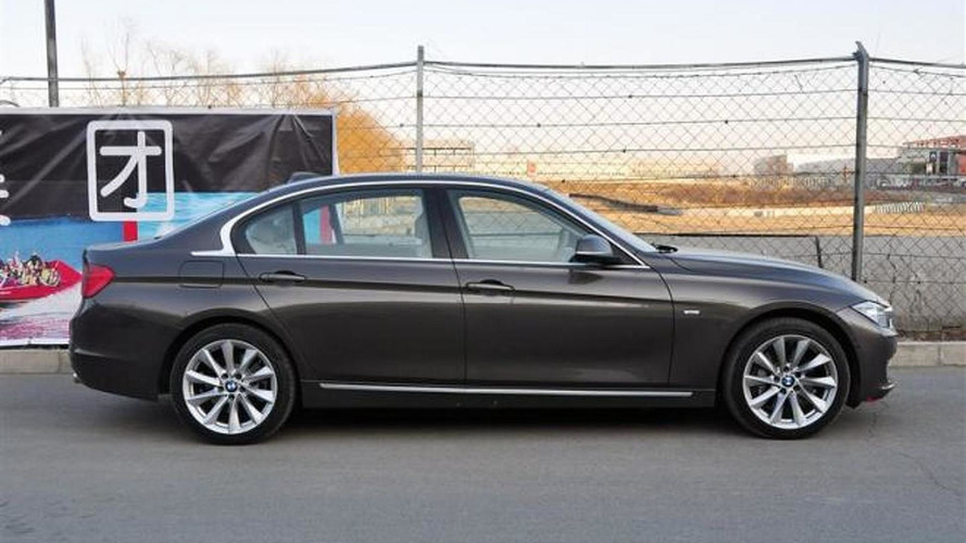 Spied: 2012 BMW 3-series Long Wheelbase (335Li)