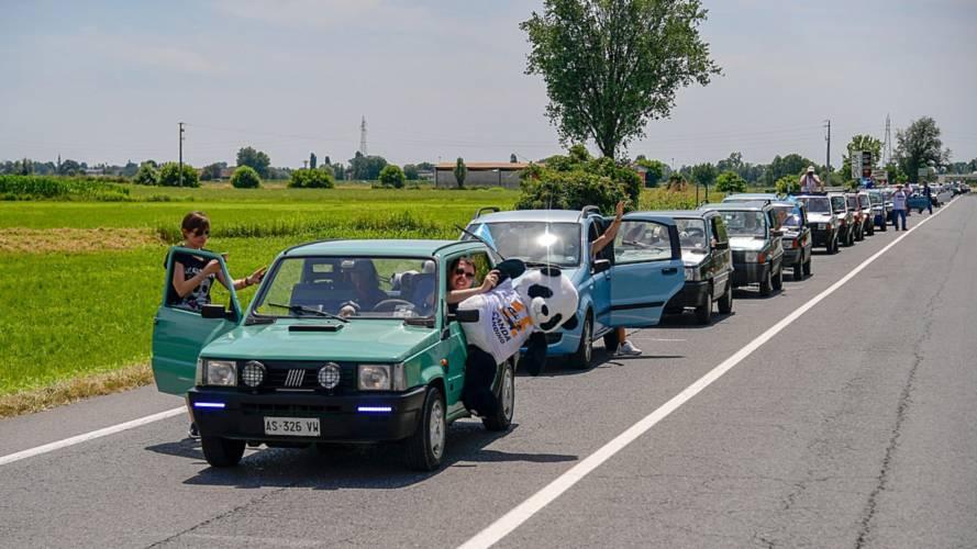 365 Fiat Panda se retrouvent à Pandino