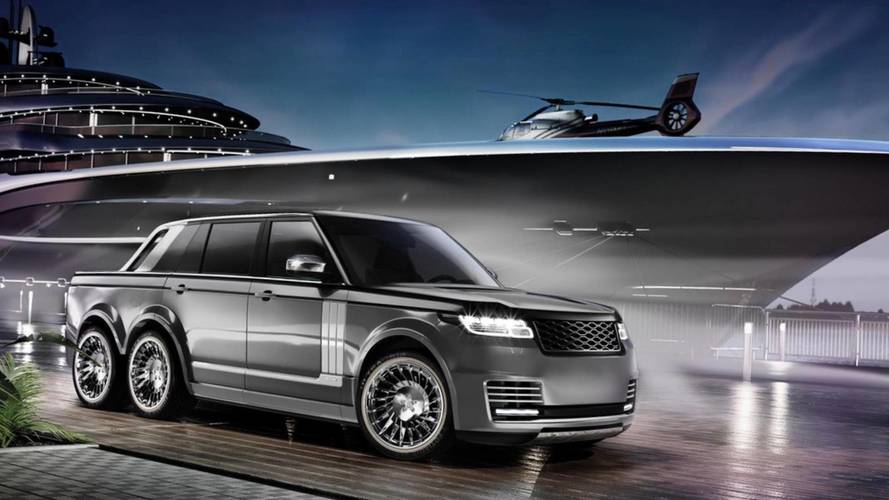 Range Rover 6x6 Superyacht Land Tender
