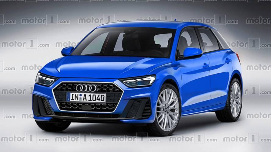 Audi A1 2019: projeção antecipa nova geração com visual mais agressivo
