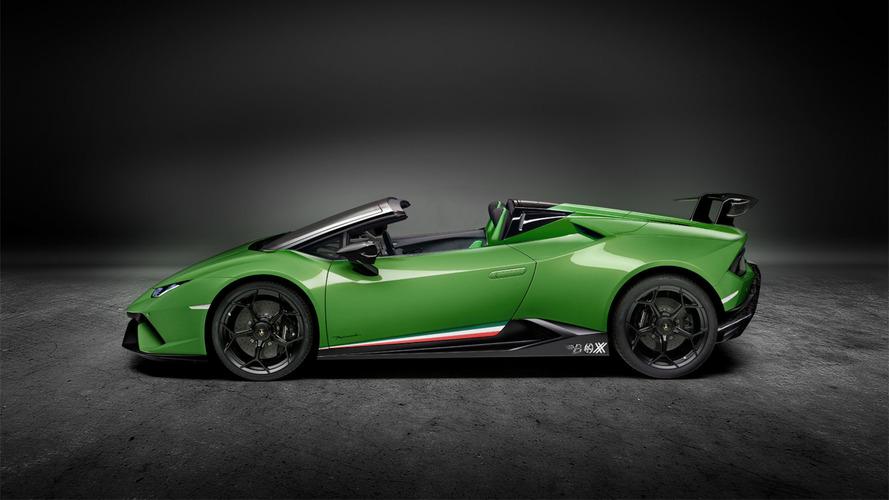 No te puedes perder este render del Lamborghini Huracán Performante Spyder