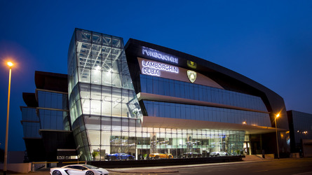 Lamborghini's New Dealership In Dubai Is Bonkers