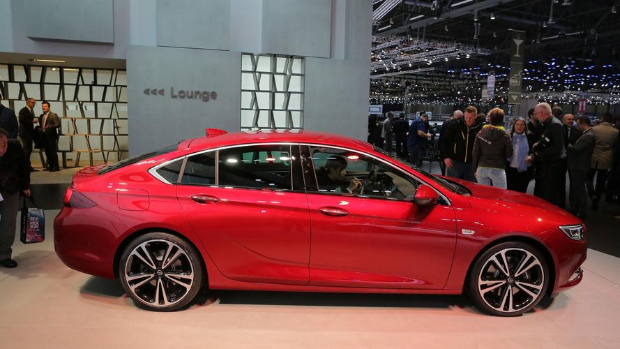 2017 Vauxhall Insignia lands in Geneva