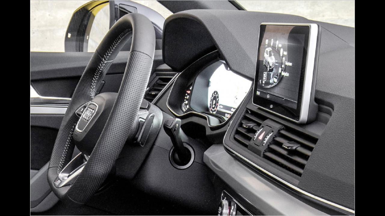 Cockpit: Display im Tablet-Look