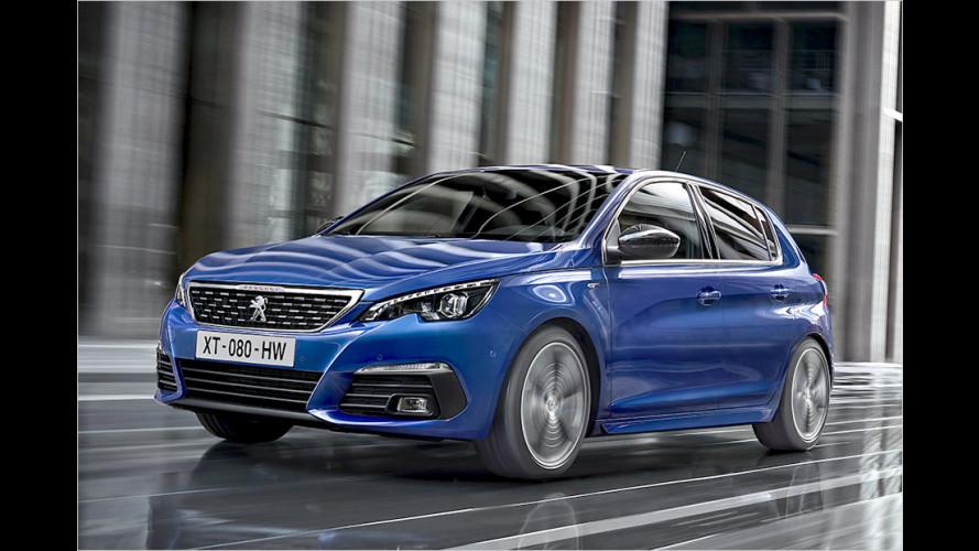 Peugeot hat den kompakten 308 überarbeitet