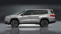 Jeep Seven Seat Rendering