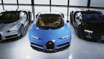 A entrega do primeiro Bugatti Chiron