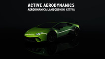 Aereodinamica Lamborghini Attiva Performante Promo Video