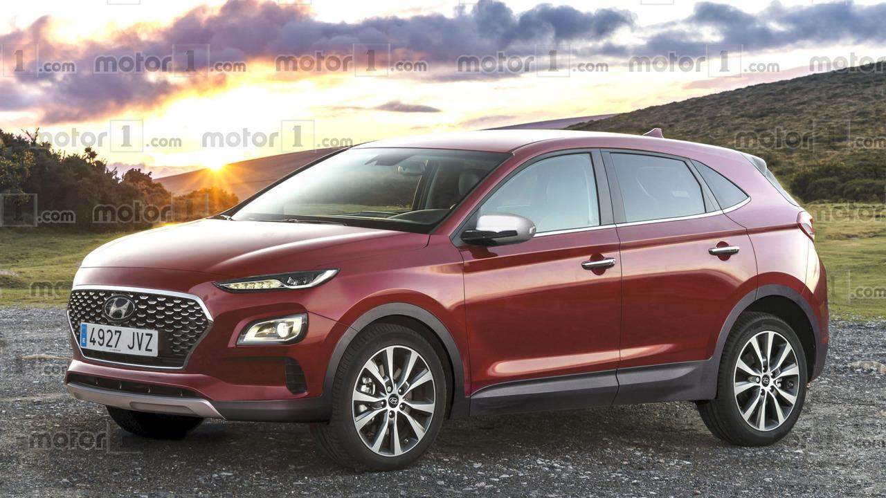 2018 Hyundai kompakt crossover tasarım çalışması