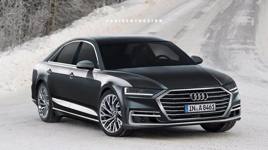 2018 Audi A8, lüks ile keskinliği birleştirmiş