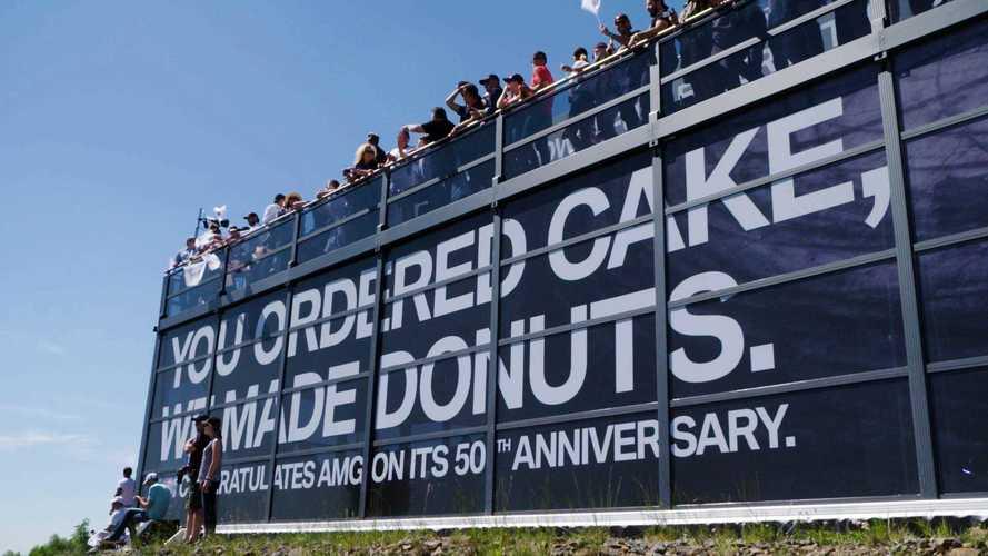 BMW Congratulates Mercedes On AMG's 50th Anniversary
