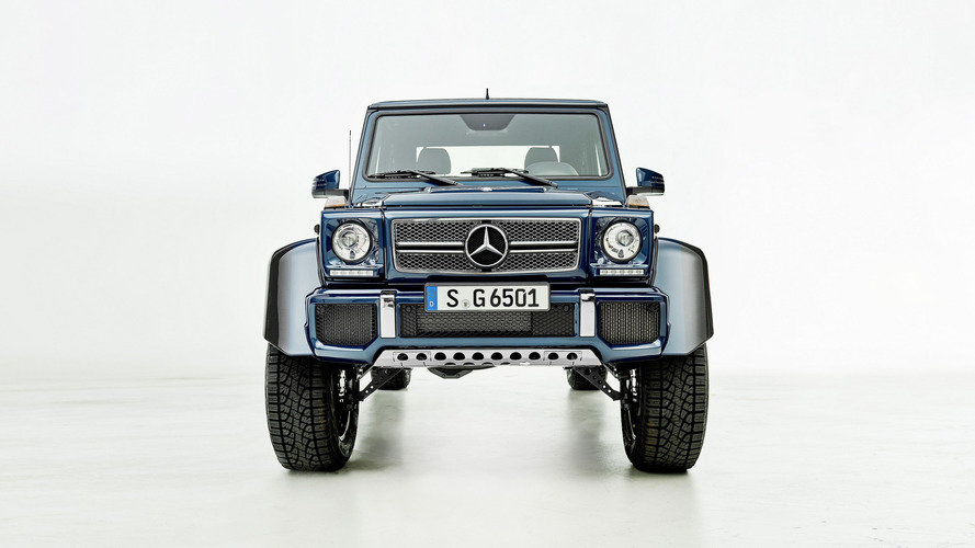Video: el Mercedes-Maybach G 650 Landaulet 2017 en acción