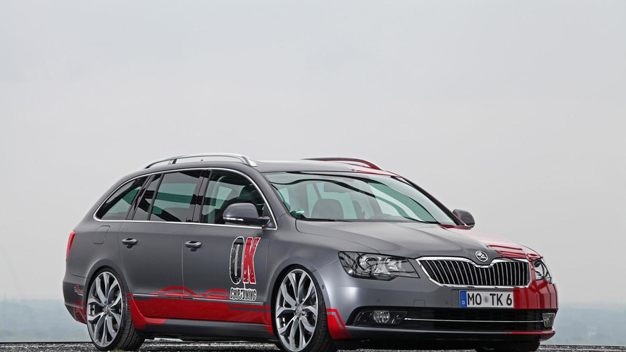 Skoda Superb Estate modified by OK-Chiptuning