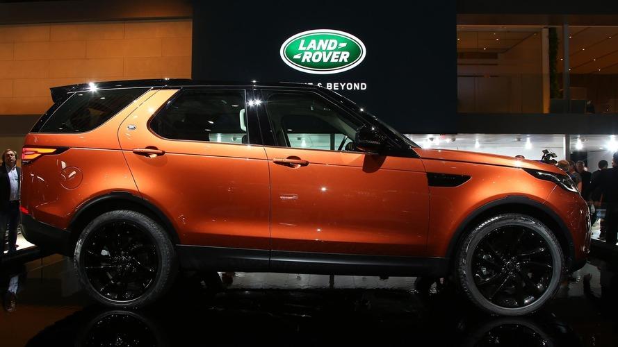 2017 Land Rover Discovery Paris Otomobil Fuarı