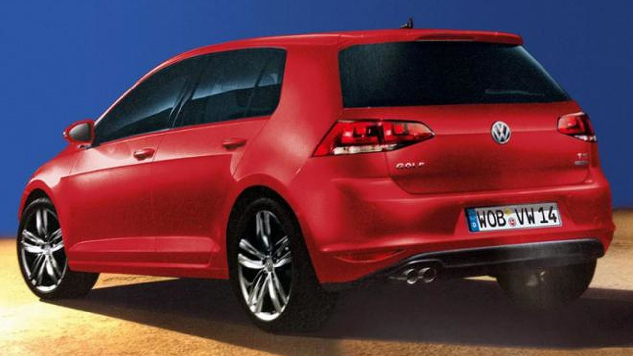 Volkswagen Golf VII (leaked photo, not official)