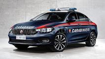 Fiat Tipo Carabinieri render