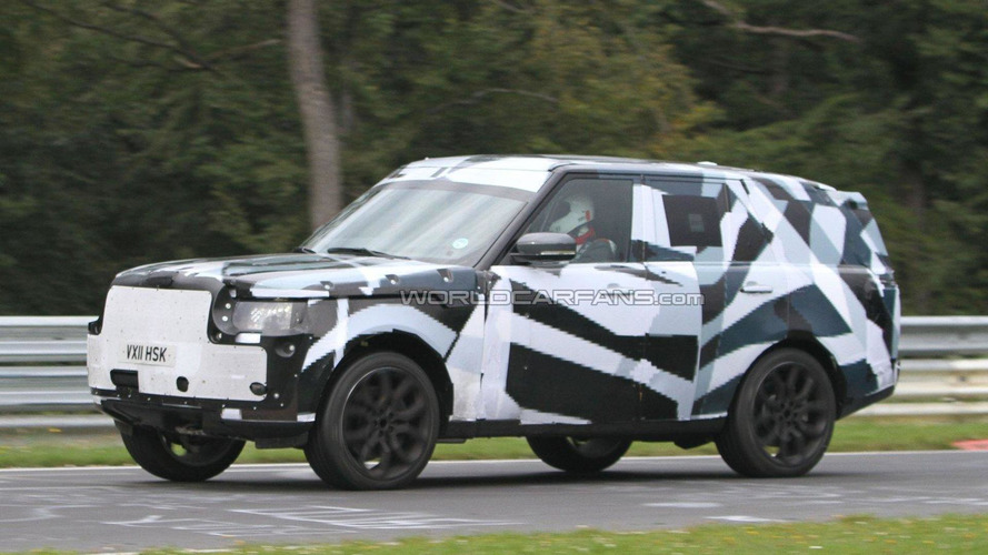 2013 Range Rover spied for the first time on the Nürburgring