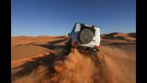 Mercedes 4x4: SUV e fuoristrada nel deserto del Sahara