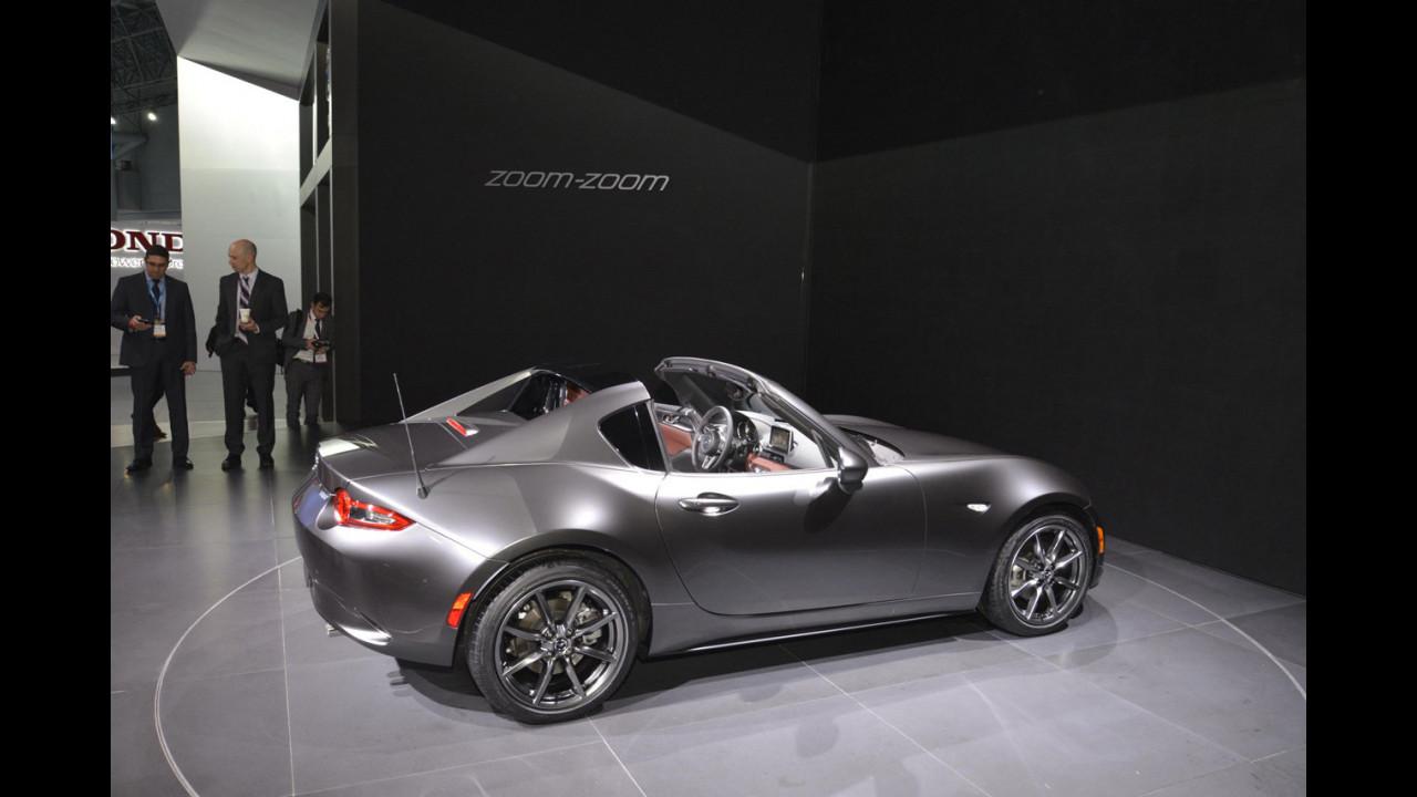 Mazda MX-5 RF al Salone di New York 2016