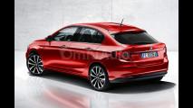Nuova Fiat Bravo, il rendering
