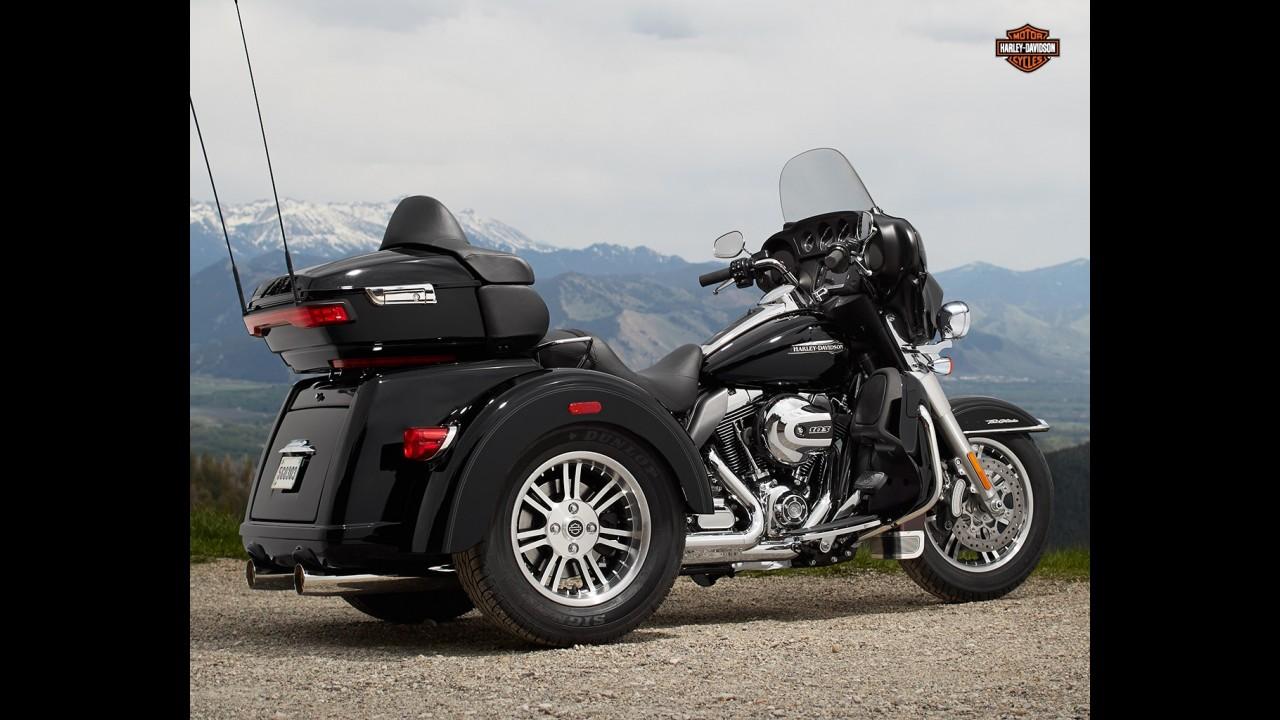 Primeira Harley-Davidson Tri Glide Ultra chega por R$ 180 mil