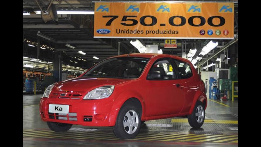 Marca histórica: Ford Ka atinge 750 mil unidades produzidas no Brasil