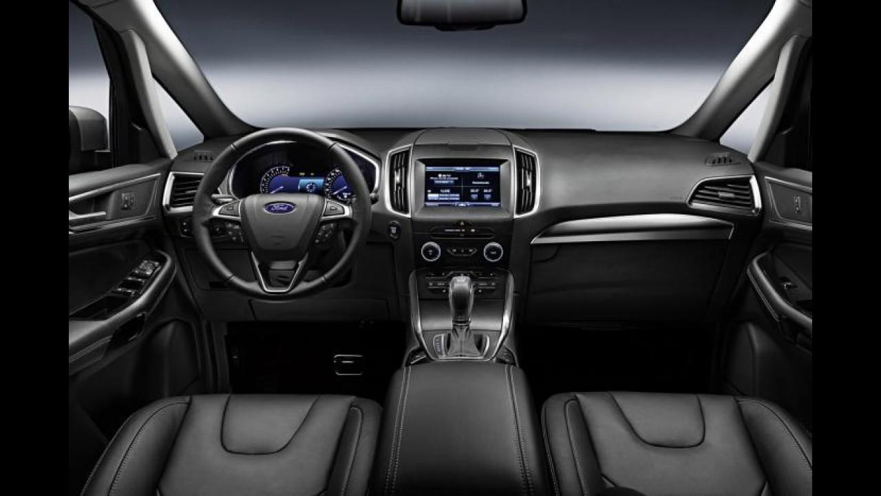 Ford revela segunda geração da minivan S-Max, derivada do Fusion