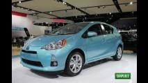 Toyota Prius C chega aos Estados Unidos com preços a partir de R$ 32.790
