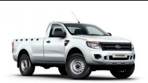 Nova Ford Ranger custará a partir de R$ 56.949 na versão cabine simples