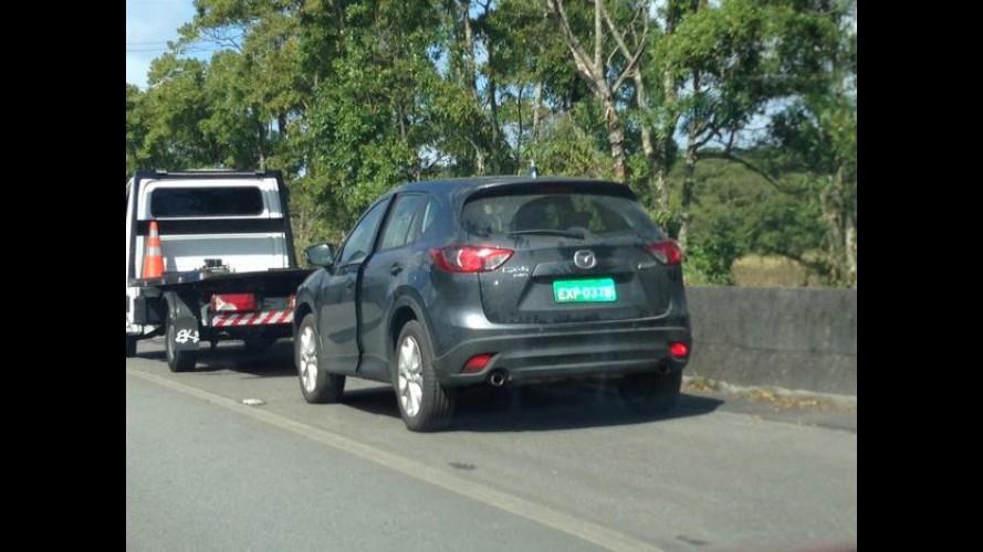 Flagra: Mazda volta a testar o crossover CX-5 no Brasil