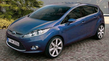 New Ford Fiesta Series Production Model Spy Photos