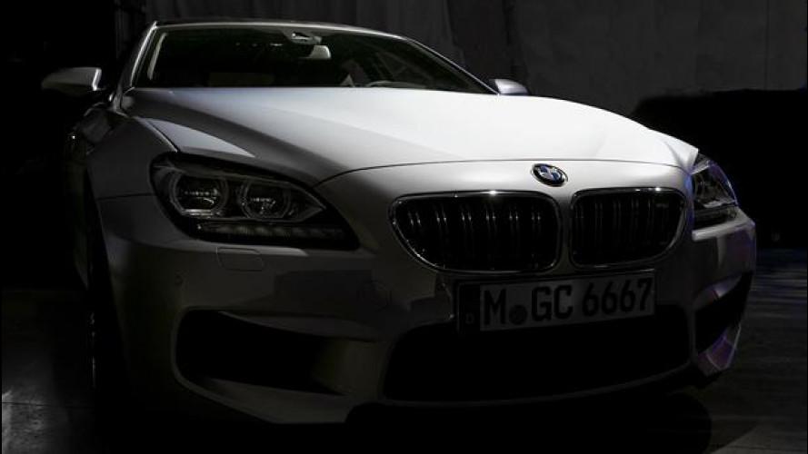 BMW M6 Gran Coupé, le prime immagini