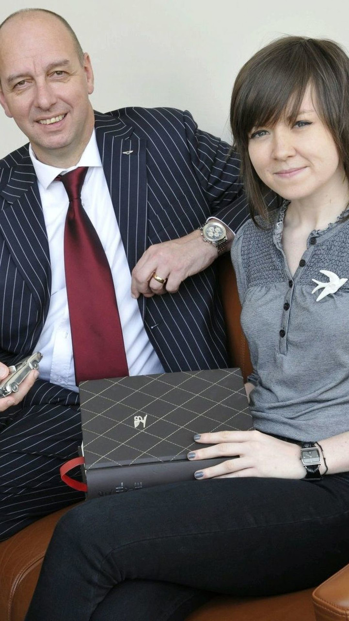 Dirk van Braeckel, Chief Designer at Bentley and Kate Whatmore, Exterior Designer at Bentley