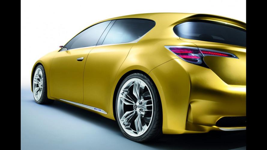 Lexus LF-Ch: nuovi dettagli
