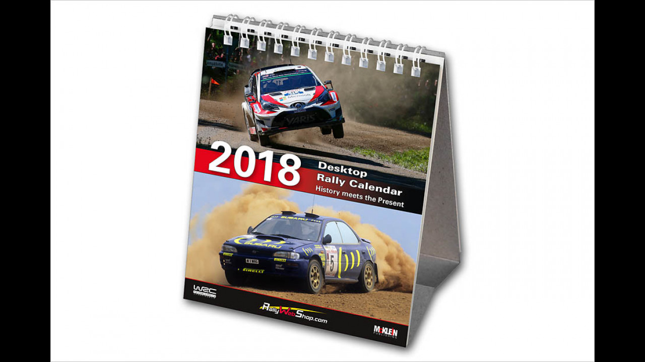2018 Desktop Rally Calender
